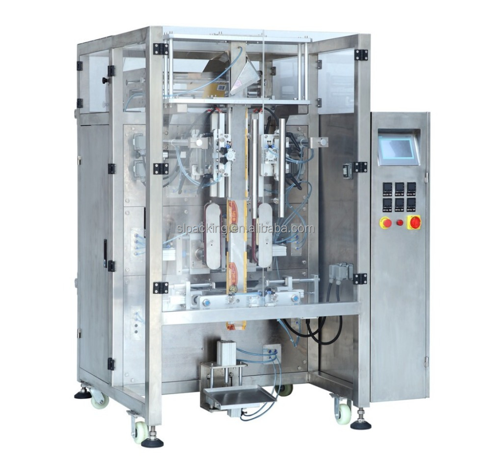 Puffed cereal automatic vertical packaging machine