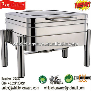 wmf style hydraulic induction chafing dish for five star hotel equipment buy five star hotel. Black Bedroom Furniture Sets. Home Design Ideas