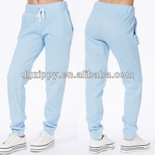 Tie string elasticated waistband woman custom jogger pants