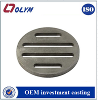 Customized 304 or 316 stainless steel floor drain lost wax casting parts