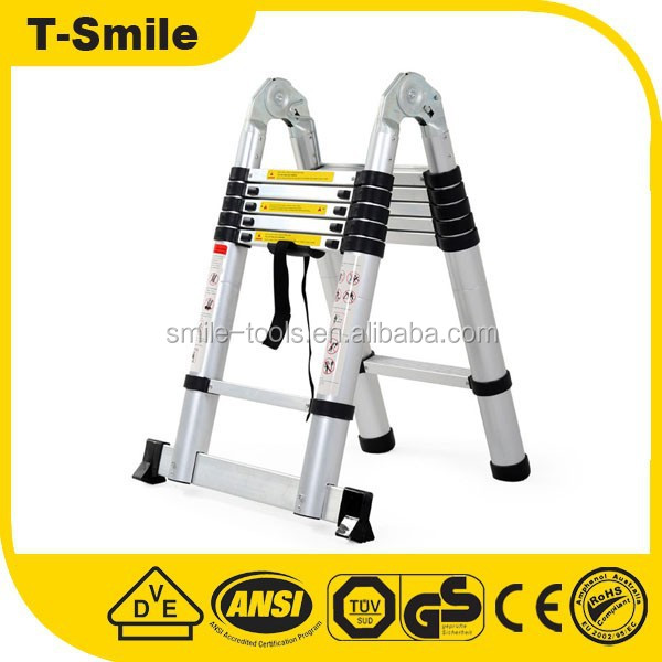 high quality professional telescopic lightweight ladders