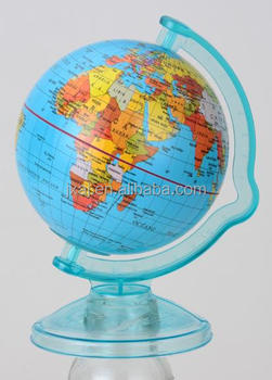 Globe with money saving box / tellurion with money box