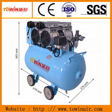 High Quality Belt Driven Electric Piston Portable High Pressure 200/400 L italy air compressor for sale