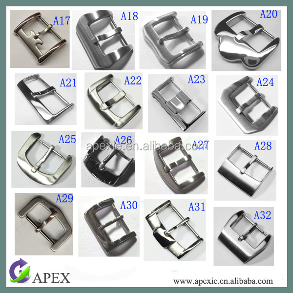 Custom watch band buckle watch strap buckle stainless steel watch belt buckle