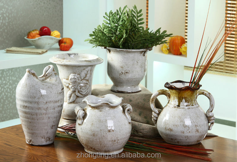 hot sale style for rustic pottery