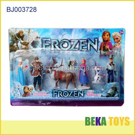 Hot selling doll disny frozen doll princess elsa and anna play set