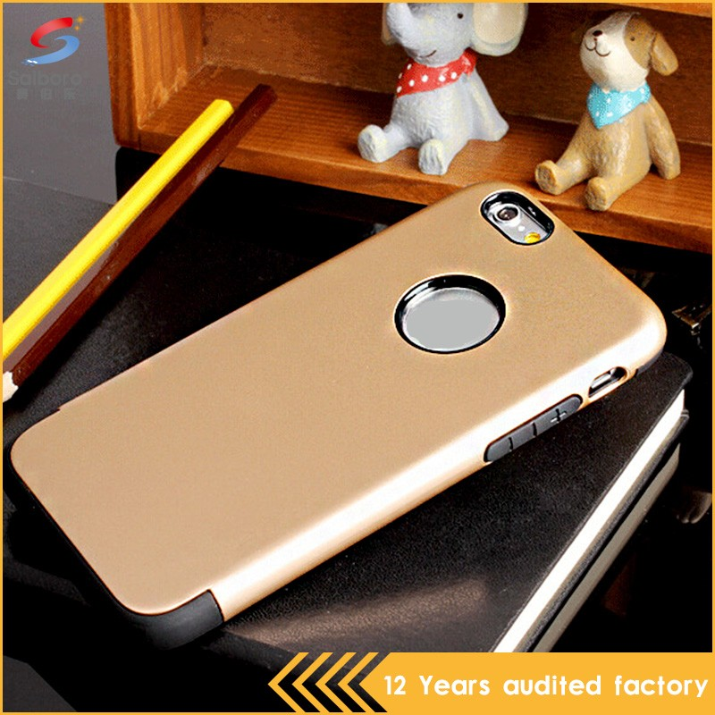 Anti-scratch mobile case dot view case for iphone 6