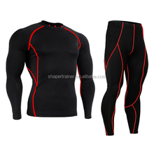 best quality 2016 hot fashion mens sport training green skin tight suit