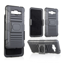 Combo holster belt clip phone cover case tpu pc creative design custom for Samsung G530 with stylus holder and magnetic