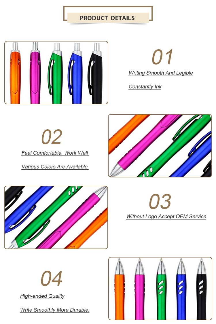 Nice High Quality Plastic Promotional Ball Pen