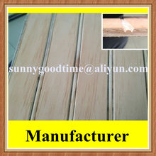 Pine commercial slotted plywood