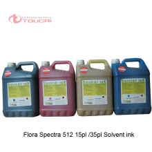Direct Factory price flora ink For spectra polaris 512 35pl 15pl head lj 320p flora solvent ink