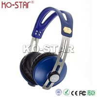 Shenzhen Factory Branded Name Promotional Easy Packing Stereo Headphones with Soft Touching
