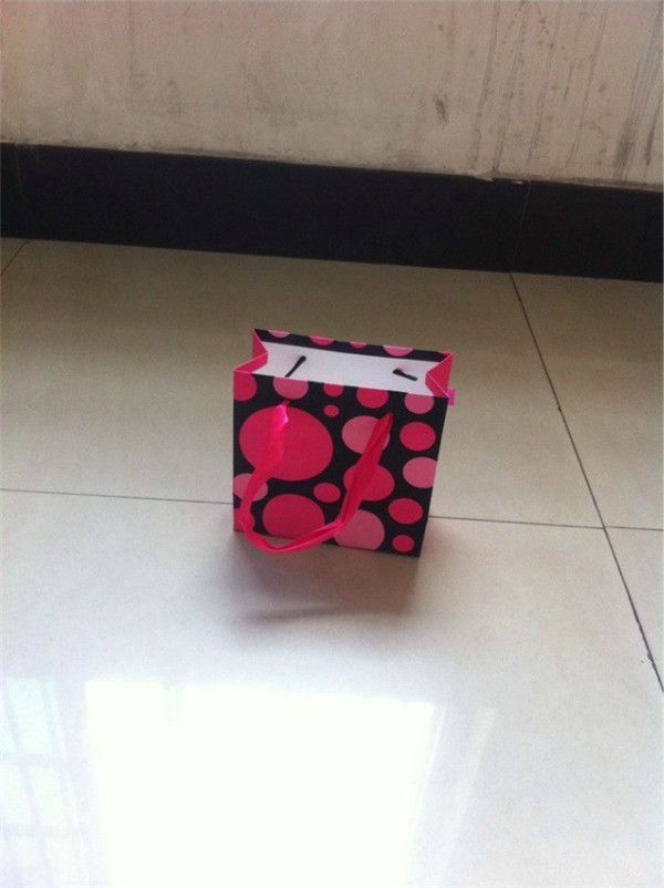 camouflage printed paper bag