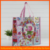 Lovely pictures printing non woven shopping bag