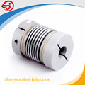 8mm to 16mm shaft coupling servo motor bellows coupler