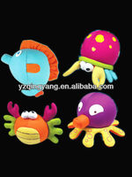 New design cute kids toy stuffed plush sea animals cartoon toy