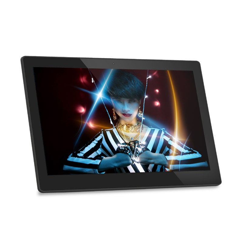 New 12 inch tablet vesa mount 75*75mm android POE tablet
