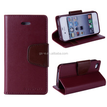 Customize Magnetic Wallet Leather Flip Cover Case for HTC Desire 500