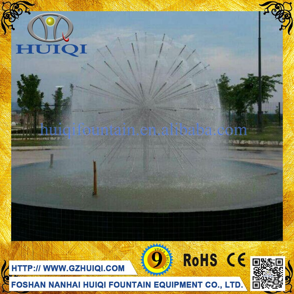 Custom Marble Sphere Fountain Water Feature Floating Ball Dancing Water Fountains