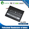 Lithium ion polymer gb t18287-2000 mobile rechargeable dry battery for HTC Flyer P510E EVO View 4G mobile phone spare parts