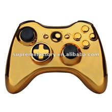 For Xbox Controller xbox360 controller shell Gold Wireless Joypad Housing Transform D-Pad Ver Full