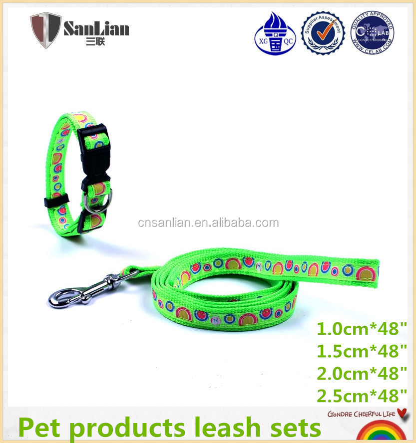 Dogs Application and Pet Nylon Collars & Leashes Wholesale