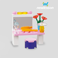 ABS plastic funny easy building blocks educational set for your girls