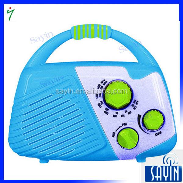 Enfants Colorés AM/FM bidirectionnelle Étanche Douche Radio - ANKUX Tech Co., Ltd
