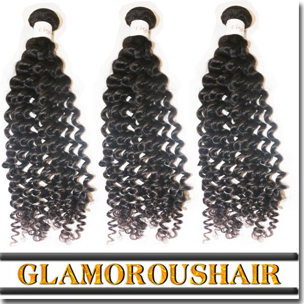 Factory online wholesale grade 7a virgin hair weaving 100% brazilian deep curly hair