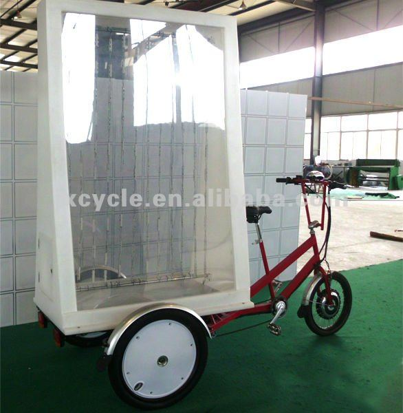 electric LED advertising trike/tricycle