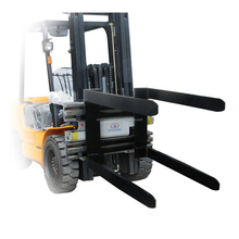 double rotating forklift