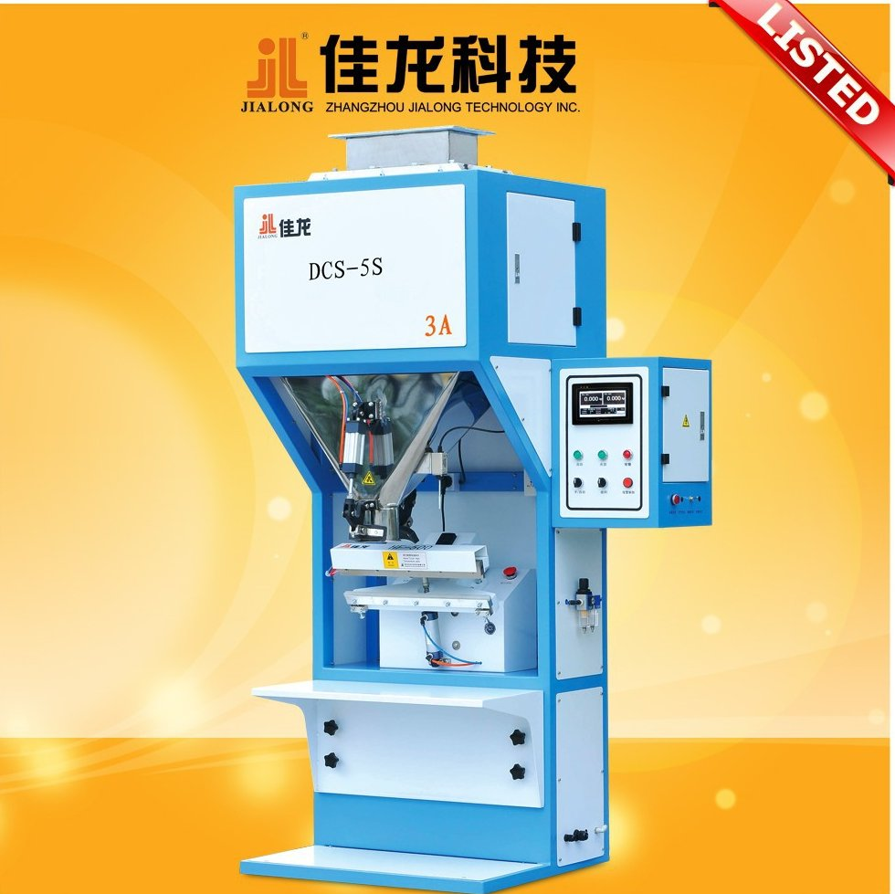 Granule 500g-5kg Grain Rice Sugar Packing Bagging Machine