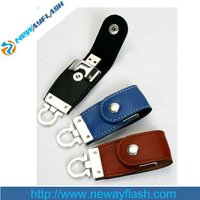 Promotional leather funny usb 32gb