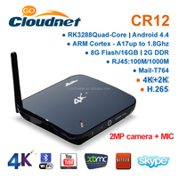 Cloudnetgo CR12 Google Android 4.4 Ott TV box 2015 best android tv box xbmc / kodi Digital Cable black Box