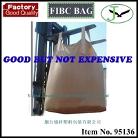 100% Polypropylene pp woven super sacks and cements jumbo bag