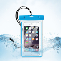 Good quality IPX8 phone waterproof pouch for swimming
