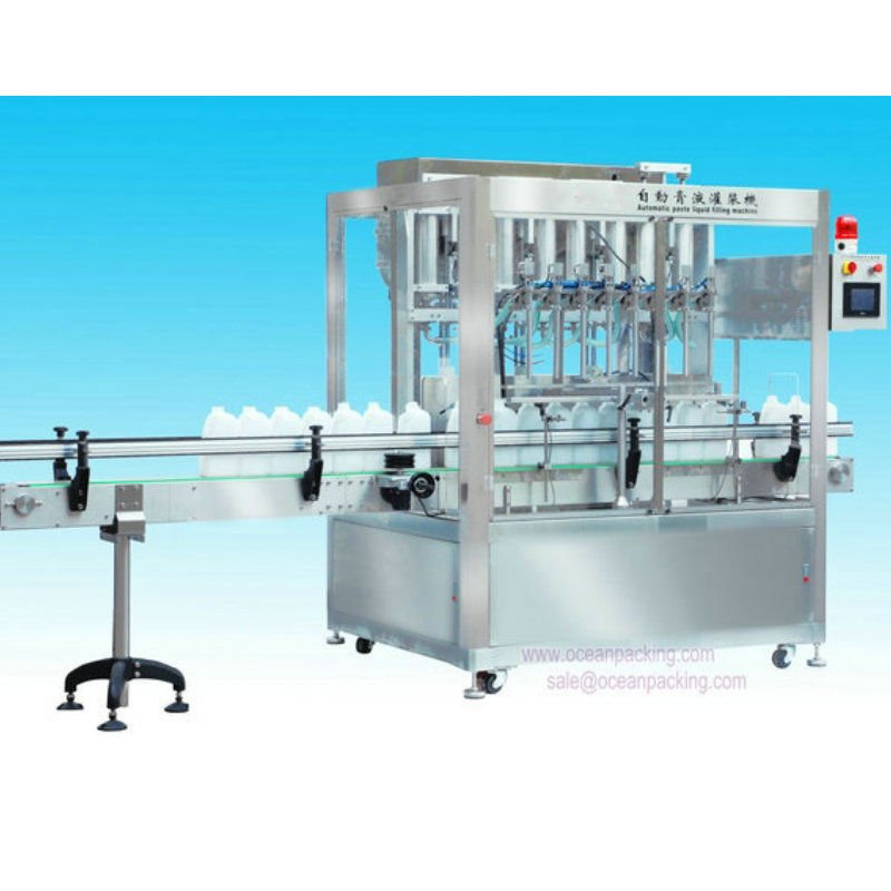 high speed automatic paint filler machine