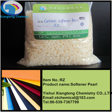 High efficient pearl type textile softener (cold water)