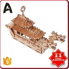 The best choice factory directly diy 3d wooden toy classic car