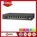 FTTH GEPON ONU 8 FE epon onu fiber optic converter for catv