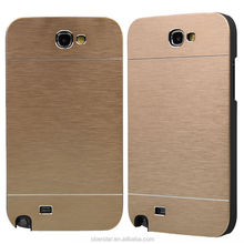 Newest Luxury For Samsung Galaxy Note 2 N7100 Aluminum Metal Brushed Hard Slim Case Cover