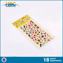 Fashion Foam Face Puffy Stickers