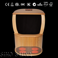 Far wooden foot saunaportable wood pallet infrared sauna