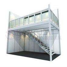 popular double deck exhibition booth