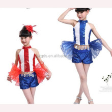 2015 new wholesale dance jazz costume/girl cute dance skirt /sequin jazzdance skirt wear