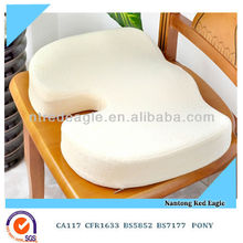 soft and confortable memory foam u-shaped seat cushion