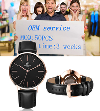 MOQ 50pcs customizing your own watches japan movt stainless steel back sr626sw watch for men rose gold