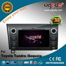 ugode 7 inch 2007-2013 for Toyota Tundra in dash car DVD player