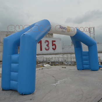 Wind Resistant Inflatable Archway Durable Finish Line Arch for Custom